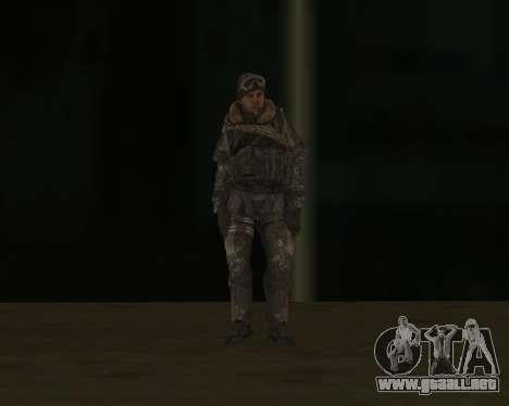 SOAP MacTavish para GTA San Andreas tercera pantalla