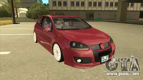 Volkswagen Golf V para GTA San Andreas left