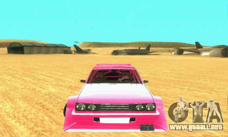 Hillclimb Club para GTA San Andreas left