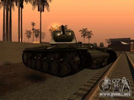 KV-1 para la visión correcta GTA San Andreas