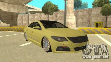 VW Passat CC para GTA San Andreas left