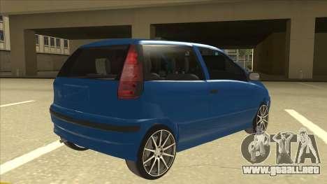 Fiat Punto MK1 Tuning para la visión correcta GTA San Andreas