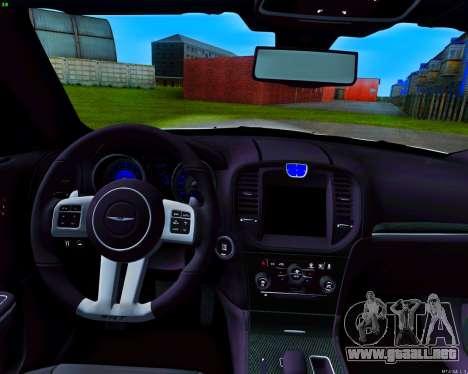 Chrysler 300C SRT-8 MANSORY_CLUB para la vista superior GTA San Andreas