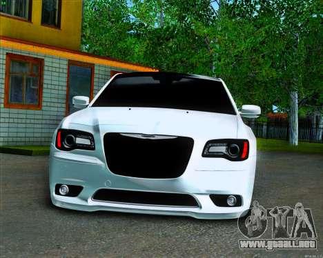 Chrysler 300C SRT-8 MANSORY_CLUB para visión interna GTA San Andreas