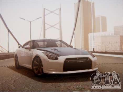 Nissan GT-R R35 Spec V 2010 para GTA San Andreas left