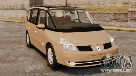 Renault Espace IV Initiale para GTA 4