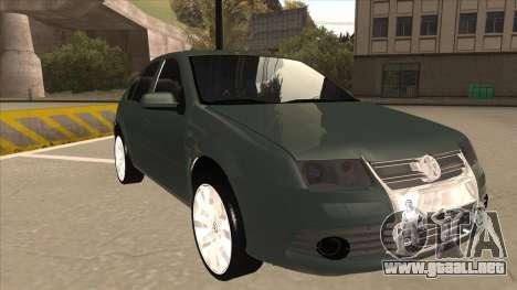 Jetta 2003 Version Normal para GTA San Andreas left