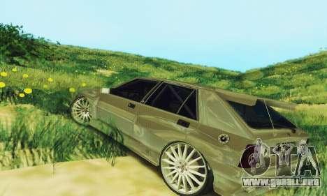 Lancia Delta HF Integrale para GTA San Andreas vista posterior izquierda