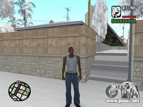 Conmutación entre personajes como GTA V para GTA San Andreas