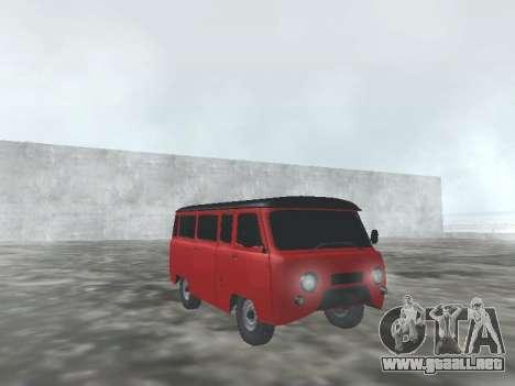 UAZ 22069 para visión interna GTA San Andreas