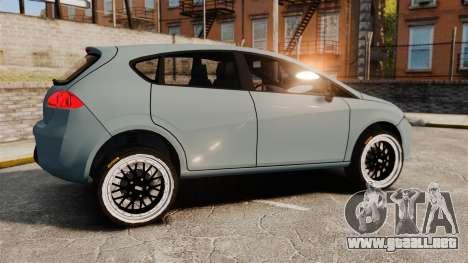 Seat Leon Gtaciyiz para GTA 4 left