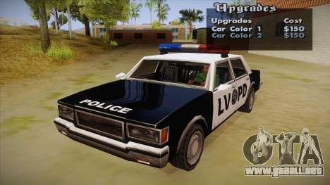 All Cars Radio & Repair Activator para GTA San Andreas segunda pantalla