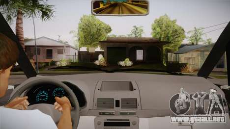Toyota Kijang Innova 2.0 G v3.0 Steel Rims para visión interna GTA San Andreas
