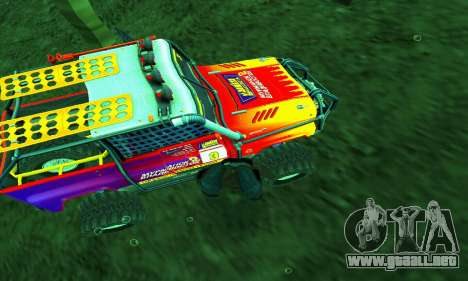 UAZ Hunter juicio para GTA San Andreas interior