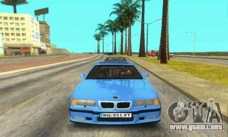 BMW M3 (E36) para visión interna GTA San Andreas