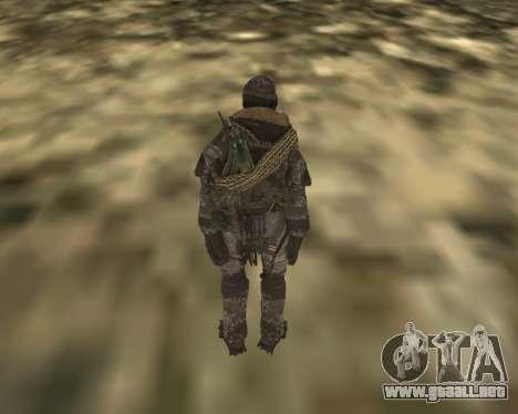 SOAP MacTavish para GTA San Andreas segunda pantalla