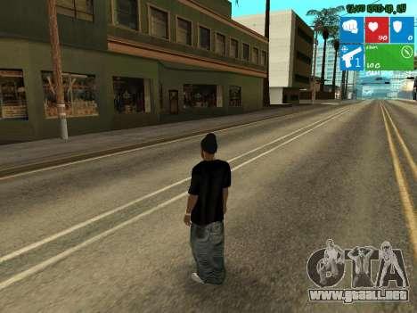 Nuevo narcotraficante Afro para GTA San Andreas segunda pantalla