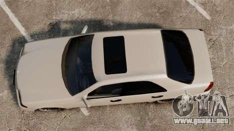 Mercedes-Benz C63 AMG para GTA 4 visión correcta
