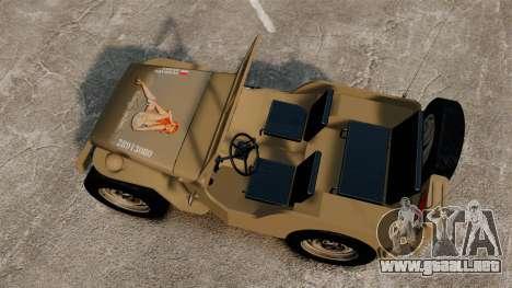 Willys MB para GTA 4 visión correcta