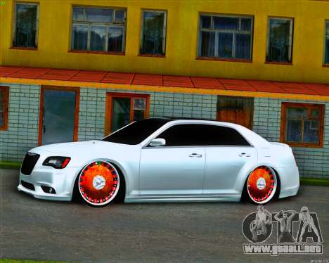 Chrysler 300C SRT-8 MANSORY_CLUB para GTA San Andreas left