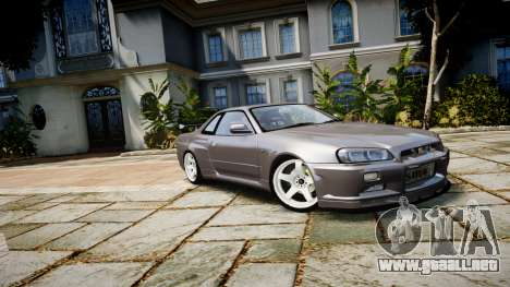 Nissan Skyline GTR-34 v1.0 para GTA 4