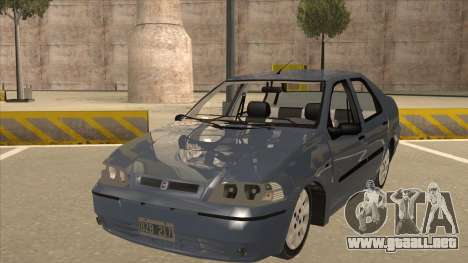 Fiat Siena Ex para GTA San Andreas