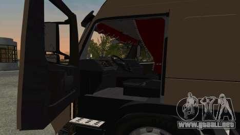 Volvo FM16 para visión interna GTA San Andreas