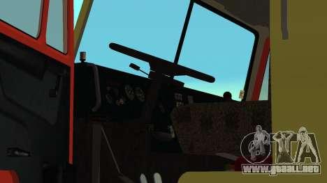 Grúa 43114 KAMAZ para vista lateral GTA San Andreas