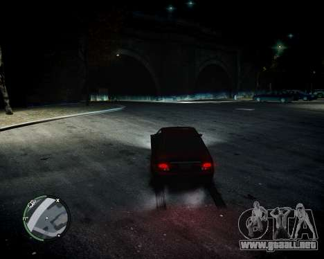 BiXenon para GTA 4 tercera pantalla
