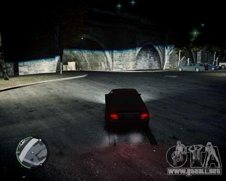 BiXenon para GTA 4 adelante de pantalla