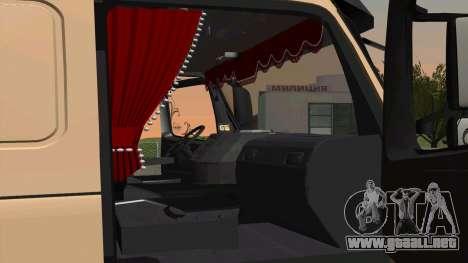 Volvo FM16 para GTA San Andreas vista posterior izquierda