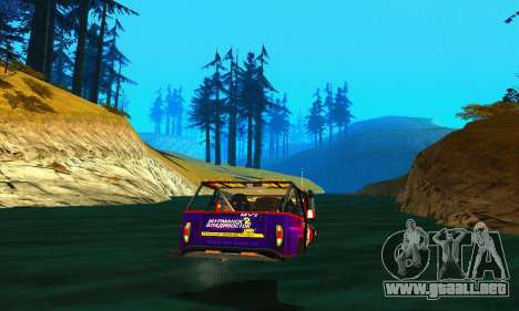 UAZ Hunter juicio para vista lateral GTA San Andreas