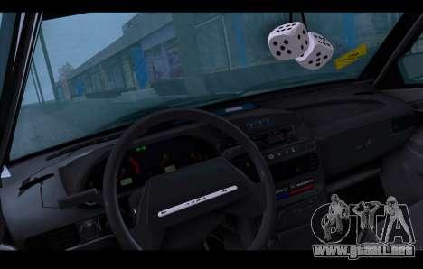 VAZ 21093 para la vista superior GTA San Andreas