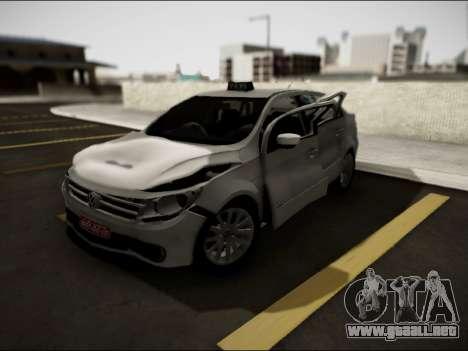 Volkswagen Voyage Taxi para visión interna GTA San Andreas