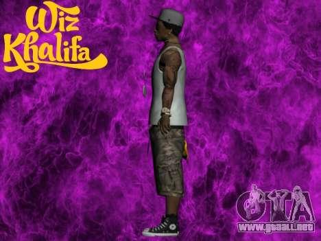 Wiz Khalifa para GTA San Andreas tercera pantalla