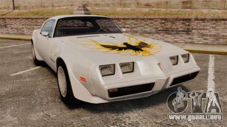 Pontiac Turbo TransAm 1980 para GTA 4