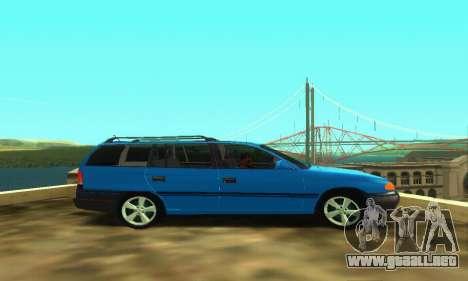 Opel Astra F Caravan para la visión correcta GTA San Andreas