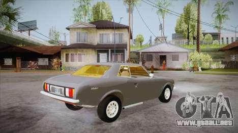 Deslizador de FlatOut para la visión correcta GTA San Andreas