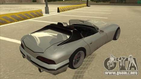 Banshee Stance para la visión correcta GTA San Andreas