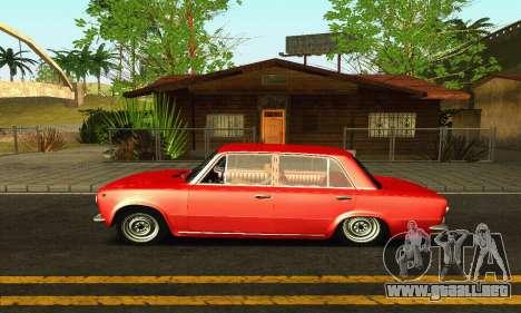 VAZ 2101 BPAN para GTA San Andreas vista hacia atrás