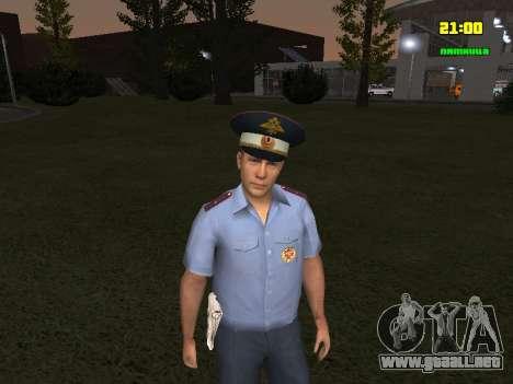 Oficial de DPS para GTA San Andreas