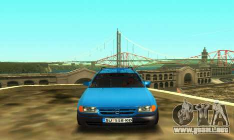 Opel Astra F Caravan para GTA San Andreas left