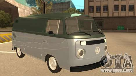 VW T2 Van para GTA San Andreas left