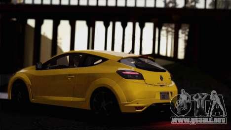 Renault Megane RS Tunable para la vista superior GTA San Andreas