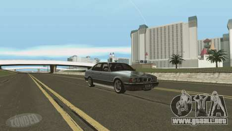 Hierba de Las Venturase. para GTA San Andreas sucesivamente de pantalla
