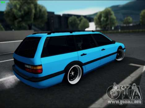 Volkswagen Passat Caravan 1993 Avant Style para GTA San Andreas left