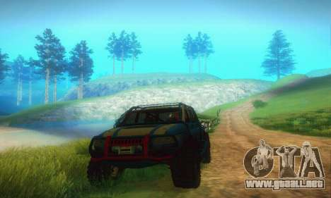 UAZ Patriot para GTA San Andreas left