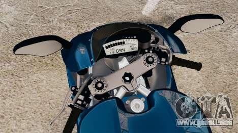 Ducati Desmosedici RR 2012 para GTA 4 visión correcta