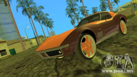 Chevrolet Corvette C3 Tuning para GTA Vice City