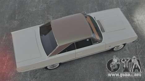 Dodge Coronet 440 1967 para GTA 4 visión correcta